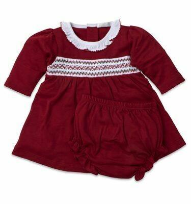 Kissy Kissy Pima Cotton Red Dress Set