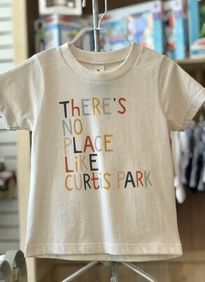 """""""There's No Place Like Curtis Park"""" Tee - Natural"""