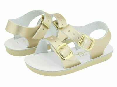 'Sea Wees' Salt Water Sandals - Gold