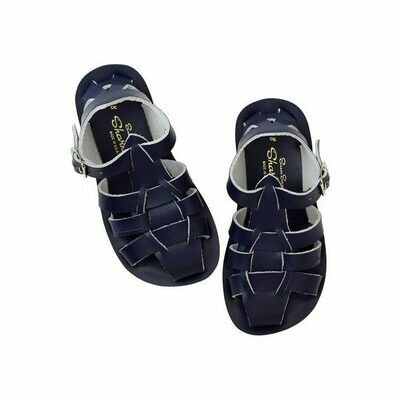 'Sharks' Salt Water Sandals - Navy
