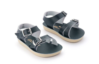 'Sea Wees' Salt Water Sandals - Navy