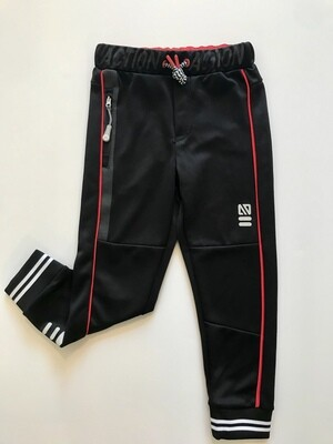 Nano Athletic Joggers - Black and Red
