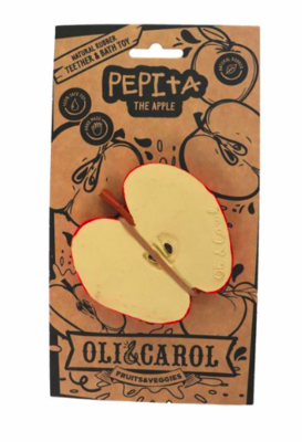Oli & Carol Fruit Teether - Pepita the Apple