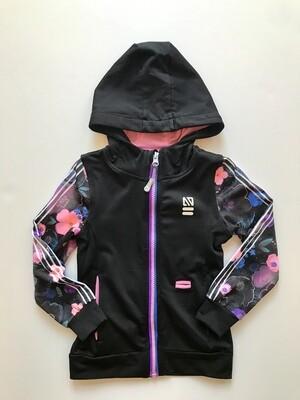 Nano Zip Up Jacket - Black and Purple