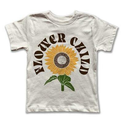 "Rivet Apparel Co. ""Flower Child"" Tee - Natural"