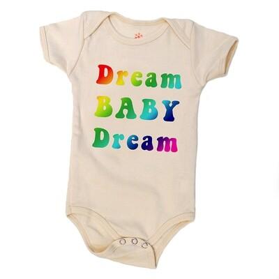 """""""Dream Baby Dream"""" Onesie - Natural"""