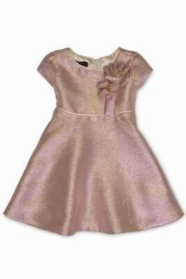Biscotti by Kate Mack Pink Shimmer Dress