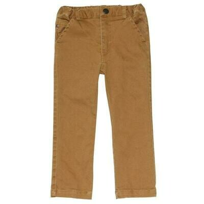 Fore! Dublin Stretch 5-Pocket Chino Pant in Mustard