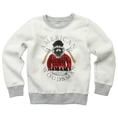 """Wes & Willy """"American Woodsman"""" Sweater - Grey"""