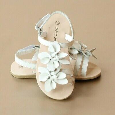 L'Amour Cream Sandals (M814)