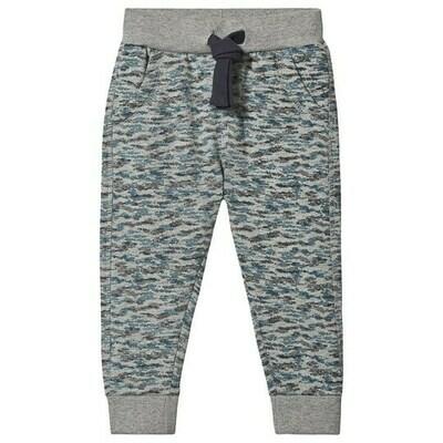 Minymo Sweatpants - Grey & Blue