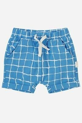 Miles Blue Tile Shorts