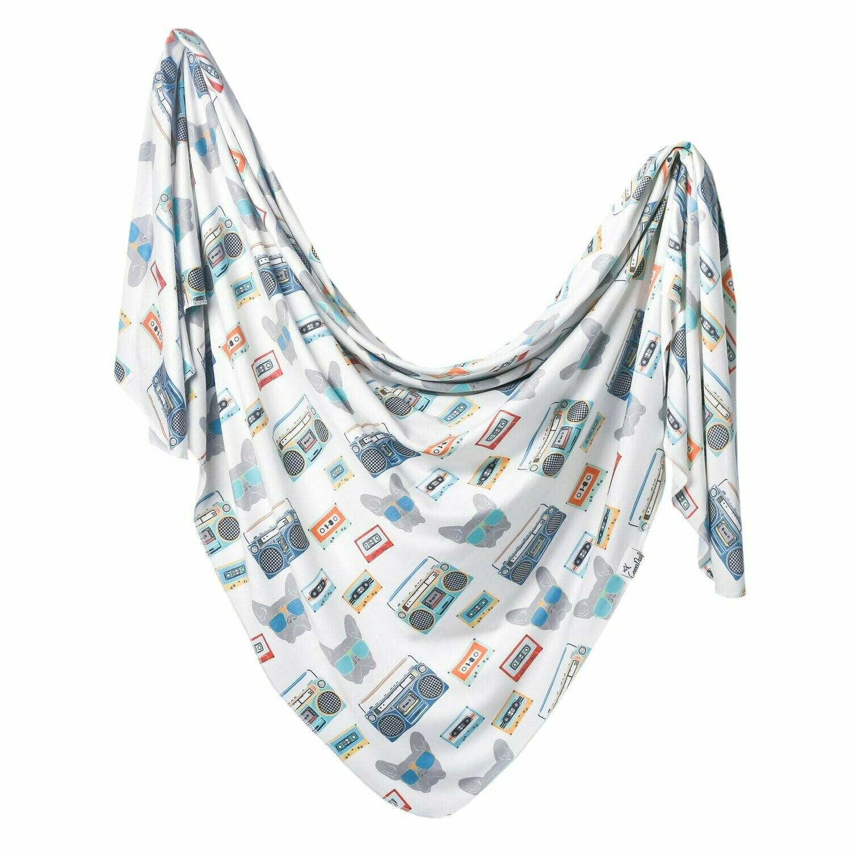 Copper Pearl Knit Swaddle Blanket - Bruno