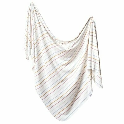 Copper Pearl Knit Swaddle Blanket - Piper