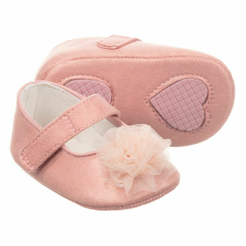 Mayoral Baby Shoes - Pink Mary Janes