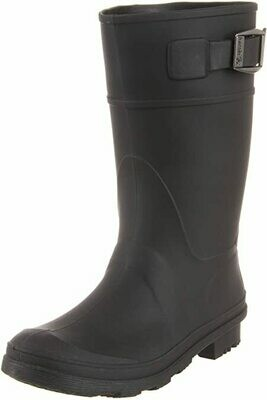 Kamik Rain Boots - Black with Buckle