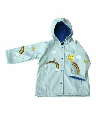 Foxfire Rainbow Rain Coat