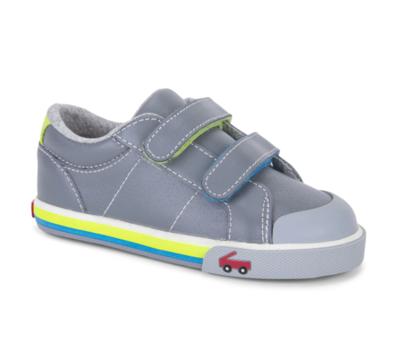 See Kai Run - Waylon Grey Leather