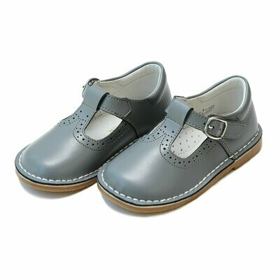 L'Amour Grey Mary Janes