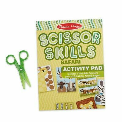 Melissa & Doug - Safari Scissor Skills Activity Pad