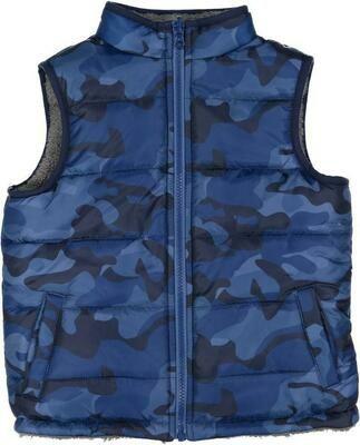 Andy & Evan Blue Camo Vest