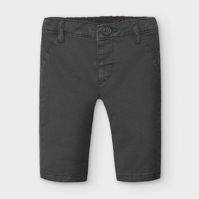 Mayoral Twill Chino Trousers - Charcoal
