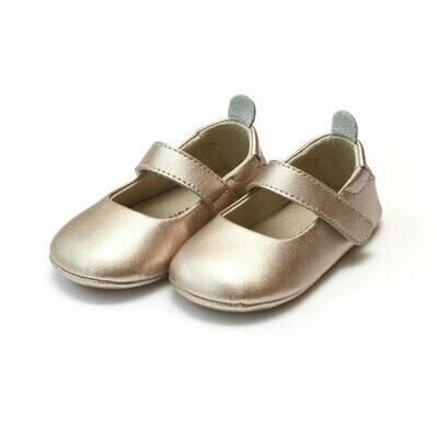 L'Amour Charlotte Metallic Copper Crib Mary Jane (Infant)