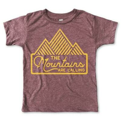 "Rivet Apparel Co. ""Mountains are Calling"" Tee"