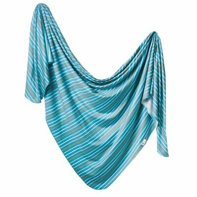 Copper Pearl Knit Swaddle Blanket - Milo