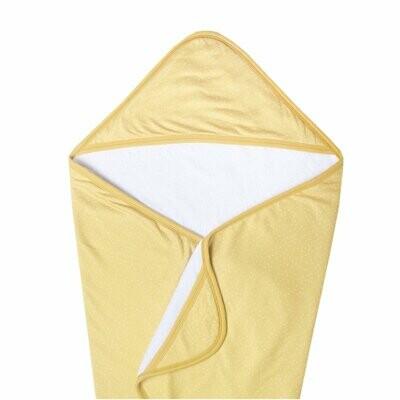 Copper Pearl Premium Knit Hooded Towel - Marigold
