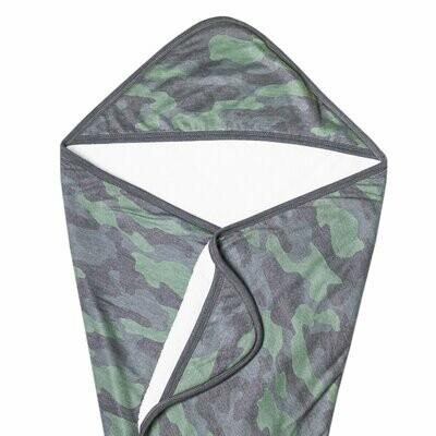 Copper Pearl Premium Knit Hooded Towel - Hunter