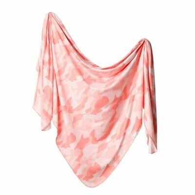 Copper Pearl Knit Swaddle Blanket - Remi