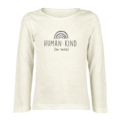 "Tenth & Pine ""Human Kind"" Long Sleeve Top"