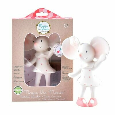 Tikiri Meiya the Mouse - All Rubber Squeaker Toy