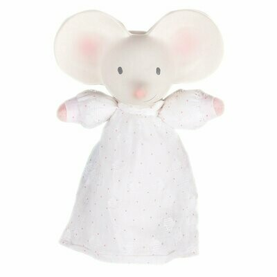 Tikiri Meiya the Mouse Soft Squeaker With Natural Rubber Head