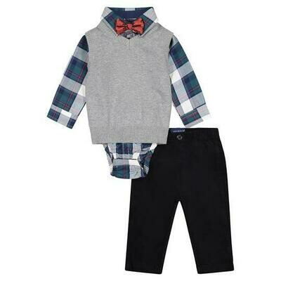 Andy & Evan The Holiday Gent Vest Set (4-Piece)