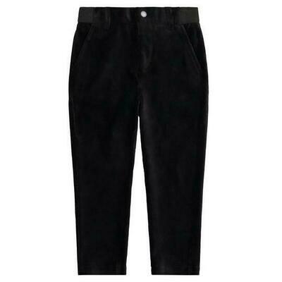 Andy & Evan Black Soft Corduroy Pants