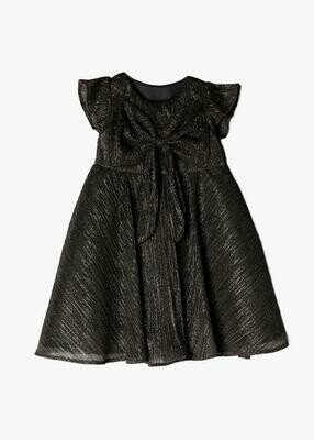 Isobella & Chloe Dark Grey Shimmer Dress