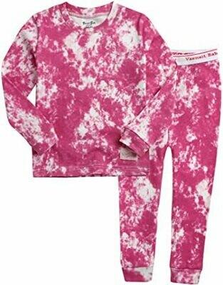 Vaenait Baby - Bright Pink Tie Dye PJ Set