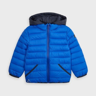 Mayoral Padded Puffer Coat - Blue