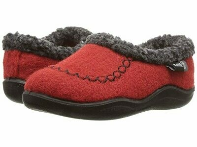 Kamik Cozy Cabin Slippers - Red