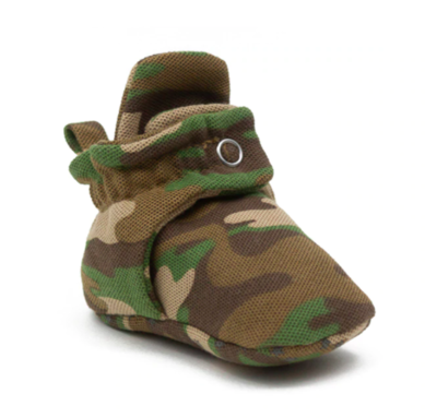 Robeez Cozy Snap Booties - Camo