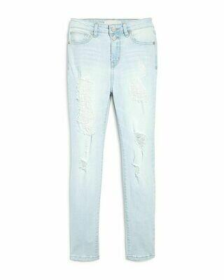 Habitual Distressed Denim Jeans - Light Stone