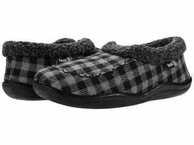 Kamik Cozy Cabin Slippers - Grey & Black