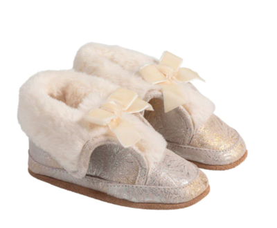 Robeez Gold Willa Soft Soles Boots