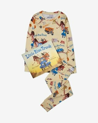 """Books to Bed """"Little Blue Truck"""" Pajama Set"""