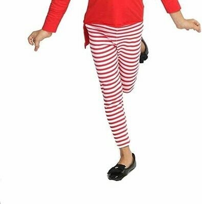 Haven Girl Candy Cane Stripe Leggings