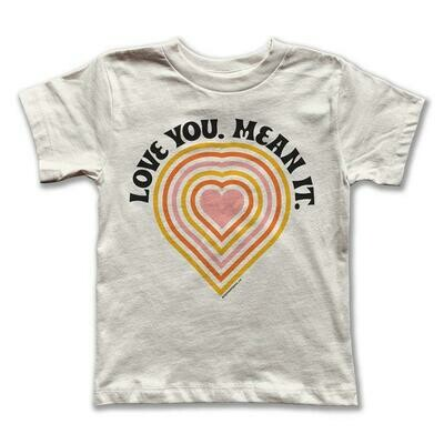 "Rivet Apparel Co. ""Love You Mean It"" Tee"