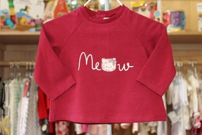 """Mayoral """"Meow"""" Top - Red"""