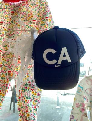 """Bubu """"CA"""" Trucker Hat - Black"""